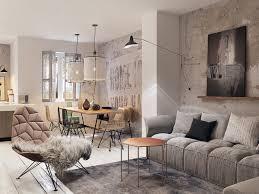 Small Picture Concrete Finish Studio Apartments Ideas Inspiration