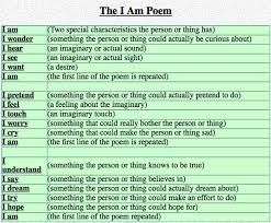 I Am Poems I Am Poems Technology Enhanced Social Emotional Activities