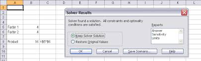 How To Use Solver In Excel Using Solver In Excel Vba