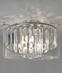 modern crystal chandelier for bathrooms ip44 sparkle and white light for your bathroom