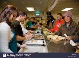 Soup Kitchen Meal Soup Kitchen Volunteers Stock Photos Soup Kitchen Volunteers