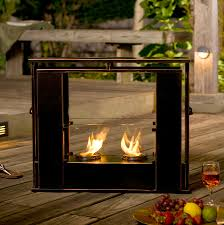 amazing portable fireplace  — decor trends
