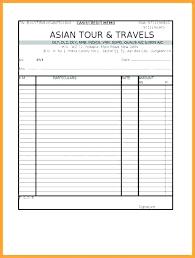 Travels Bill Book Format Pick Up Receipt Template Sample Taxi Travel Bill Pi Onbo Tenan