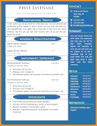 One Page Resume Format Classy 48 Page Resume Templates One Page Resume Format One Page Resume