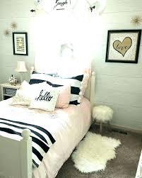 black bedroom decor gold and white