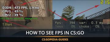 how to see fps in cs go commands to