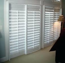 plantation shutters for sliding glass doors shutters for sliding glass doors bypass track shutters sliding glass