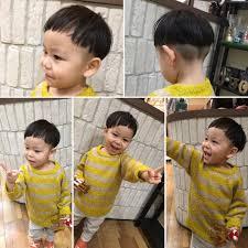 潔いタラちゃんツーブロックオシャレキッズスタイル 髪型2019