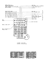 c fuse block diagram wiring diagrams