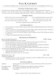 It Resume Sample 5 It Example Techtrontechnologies Com