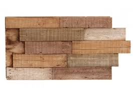 deconstructed pallet faux wall panels