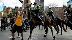 Check spelling or type a new query. Anti Lockdown Protesters Clash With Sydney Police France 24