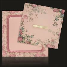 Weding Card Designs Invitation Cards Designs For Wedding Peach Shading With