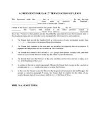 Best Texas Residential Lease Agreement Early Termination Image ...