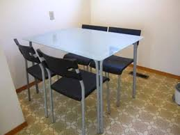 glass top dining table ikea home design with regard to plans 9