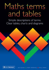 Maths Terms And Tables Book Dr Paul Swan 1p017 Maths Supp