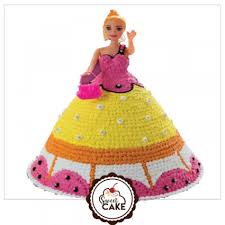 Barbie Doll Cake Designer Birthday Cakes In Delhinoida