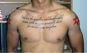 Love Quote Tattoos Simple 48 Quote Tattoos For Men Expression Of Words Written In Ink