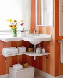 corner sink bathroom