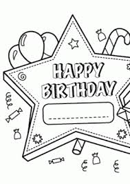 Small Picture happy birthday coloring pages Archives Coloring 4kidscom