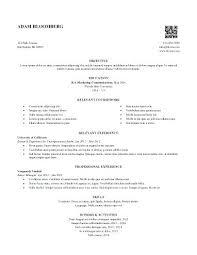 Internship Resume Sample Examples Computer Science Template