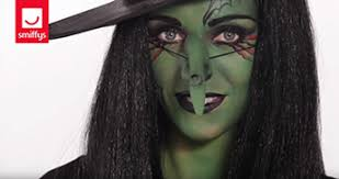 scary witch make up tutorial