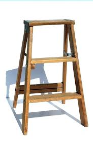 wooden ladder for vintage wood step ladder two step ladder vintage wood ladder folding two