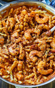 y shrimp and tomato cream pasta quick and easy to make for a weeknight meal