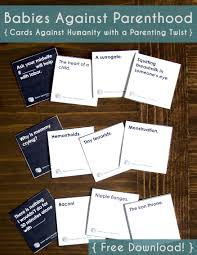 babies against pahood like cards against humanity