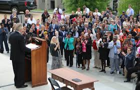 legislative attempts to make it easier for felons to vote almost  virginia s democratic gov terry mcauliffe spoke to a gathered crowd in richmond before signing a