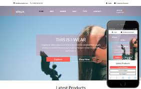 Simple Website Templates Simple ECommerce W48layouts