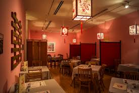 a typical chinese canadian restaurant circa 1980s vintage s match covers postcards tables chairs plants placemats s lanterns photos