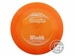 Innova Plastics Chart Details About New Innova Champion Wraith 168g Orange White Stamp Distance Driver Golf Disc