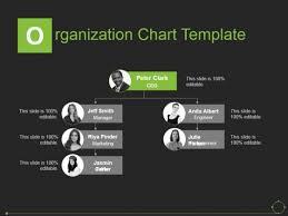 Microsoft Organizational Chart Template Organization Chart Template Ppt Powerpoint Presentation