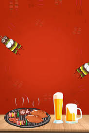 Best Barbecue Design Need For Barbecue Advertising Poster Background Material