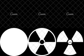 Radiation Logo Design Ionizing Radiation Symbol Icons By Canva