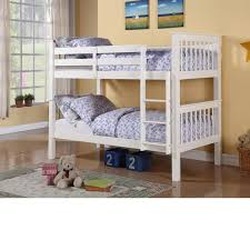 ... Charming Space Saving Shared Bedroom Decoration With Various Ikea White  Bunk Bed : Fascinating Girl Bedroom ...