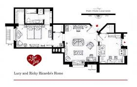 Artist Draws Beautiful Floor Plans Of Famous TV Show Homes  TODAYcomTv House Floor Plans