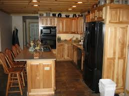 Hickory Kitchen Cabinets Installing Hickory Kitchen Cabinets For Nice Kitchen Decor Kitchen