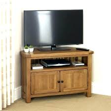 glass doors corner oak tv stands with glas stand