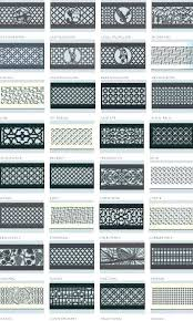 decorative wall vent covers home air ventilation awesome registers metal floor cover canada