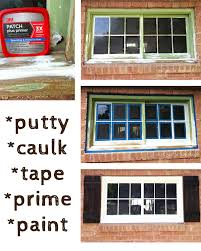 Best Window Caulk How To Paint An Old Window Stacy Risenmay