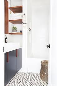 white bathroom floor: amber interiors client freakin fabulous neustadt