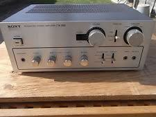 sony power amplifier in pro audio equipment vintage sony ta 2650 power amplifier 40w ch 8 ohm