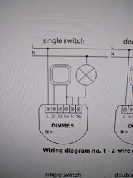 z wave review fibaro dimmer 2 fgd 212 deviant engineer as previously stated i live in an older house that only had 2 wires in the light box the line and load no neutral like you would see in a newer home