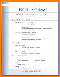 7 Best Cv Format Free Download Letmenatalya