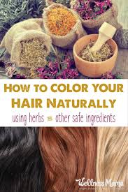 My Favorite Natural Hair Color Recipes