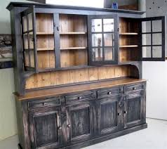 dining room hutch. Tall Rustic Dining Room Side Board Home China Cabinets Hutches Custom Hutch