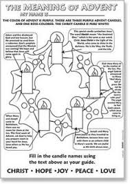 Advent Wreath Coloring Page Free Download