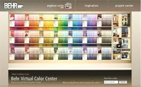 Faux Color Chart Behr Paint Color White Clay Colors Mocha Green Spring Chart